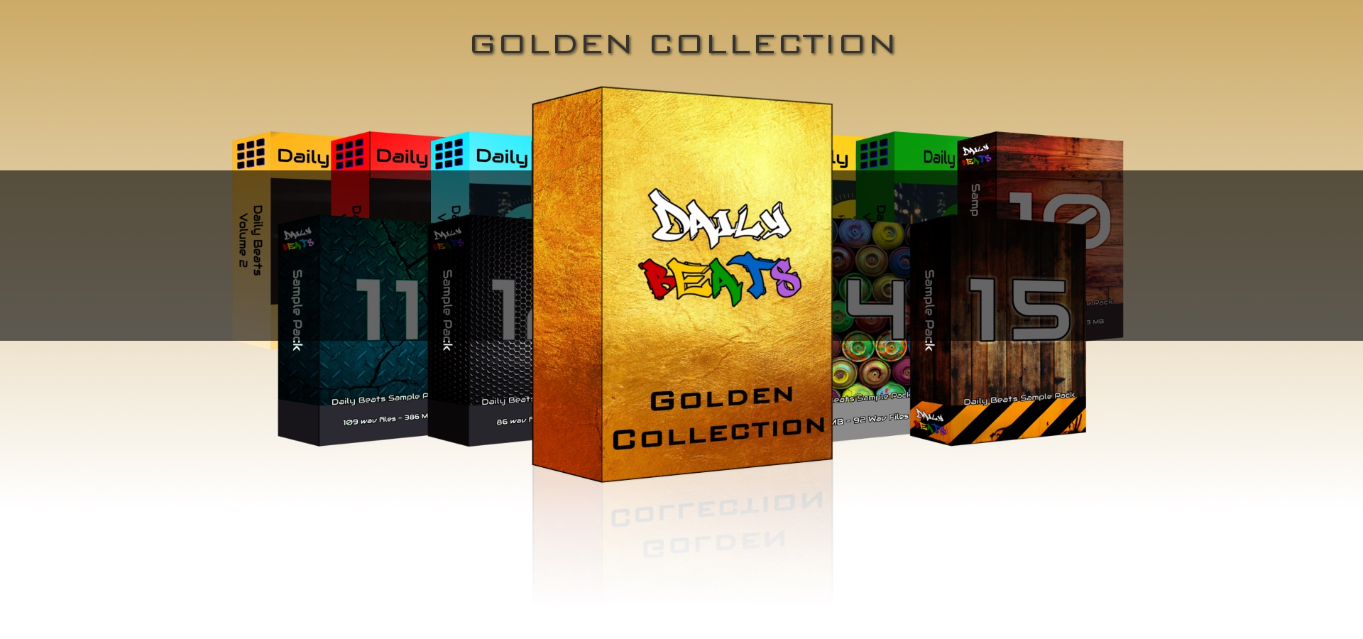 Sample Packs Golden Collection