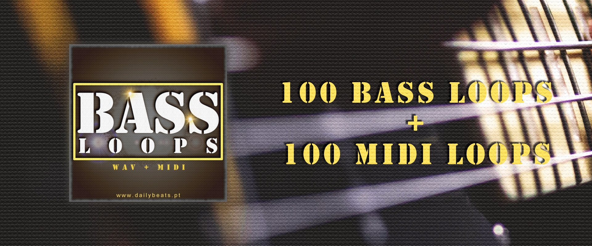 Bass Loops Banner