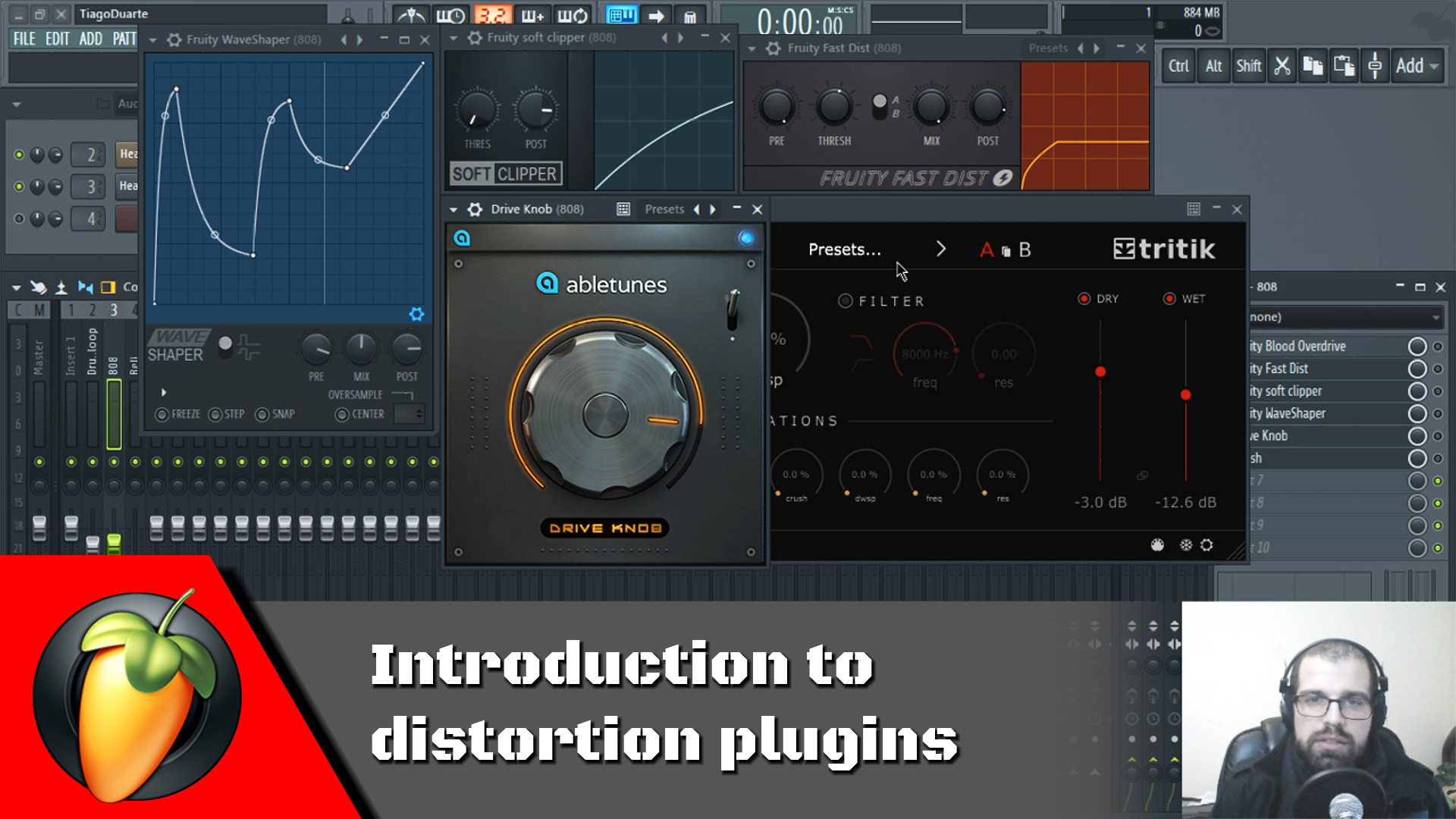 Introduction to distortion plugins