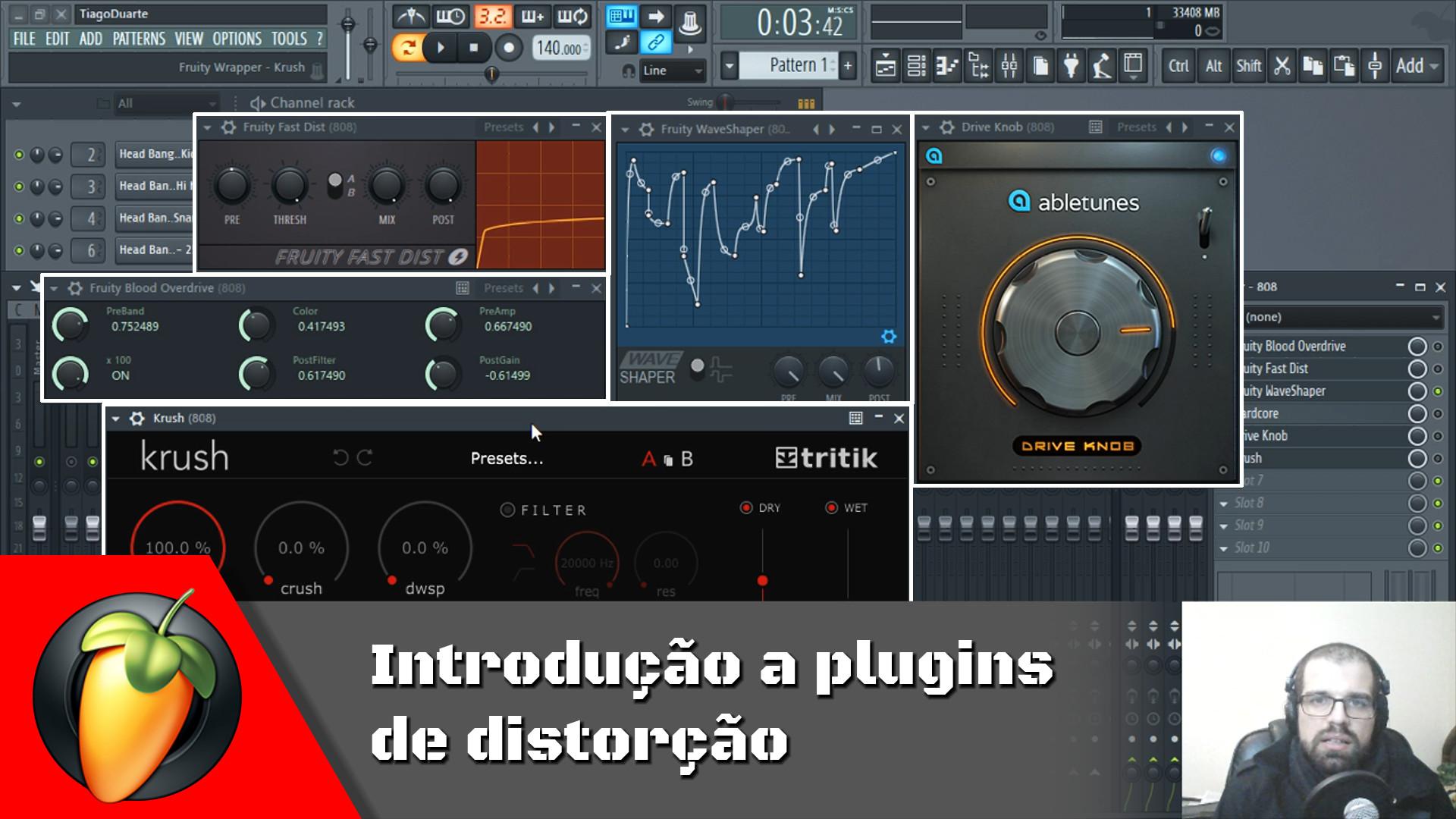 Introdução aos plugins de distorção