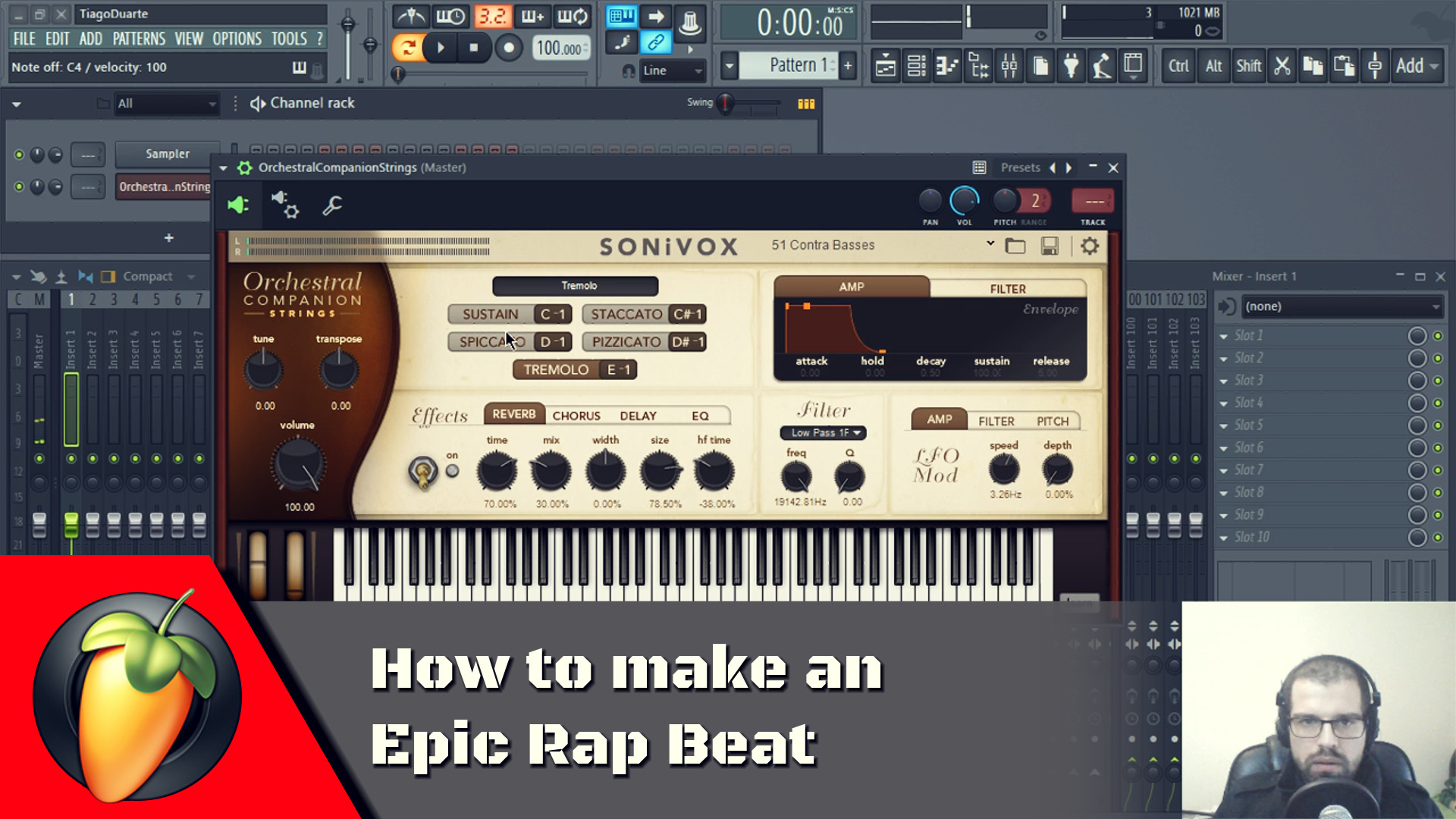 How to make a Epic Rap Beat