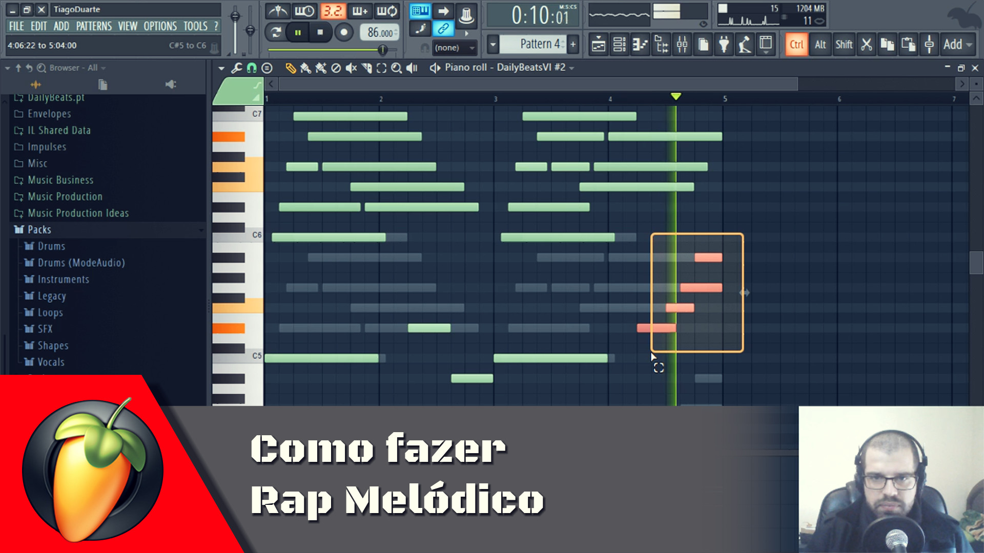 Como fazer Rap Melodico
