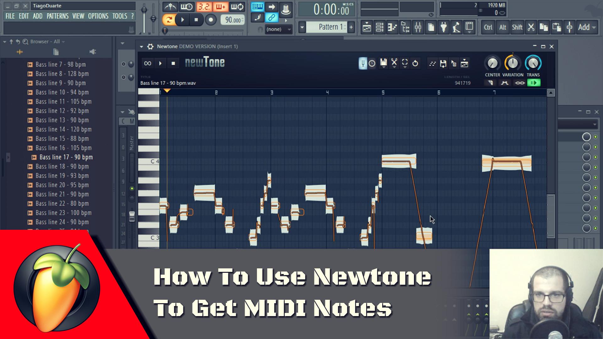 Newtone To Get MIDI Notes