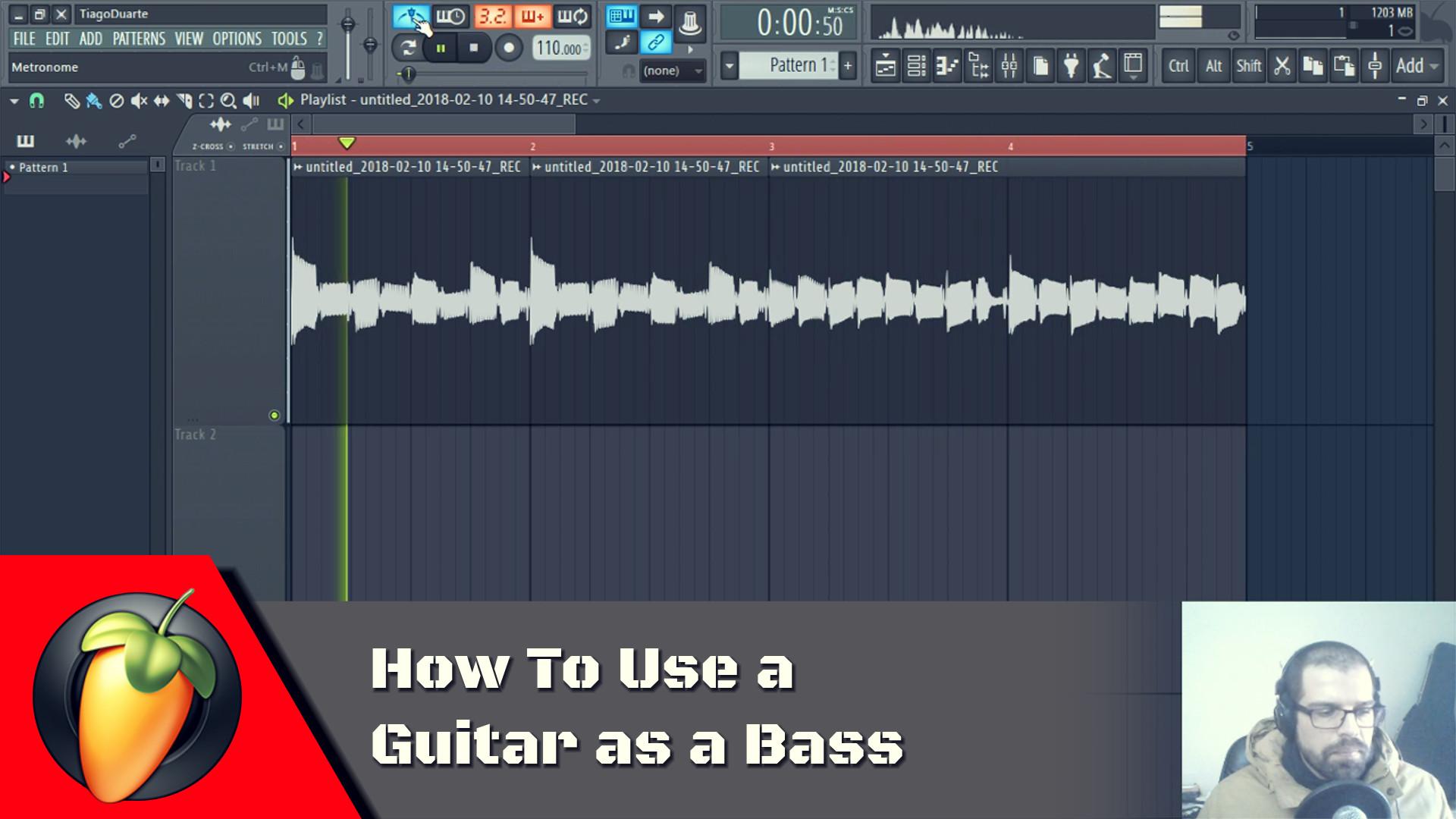 Guitar As a Bass