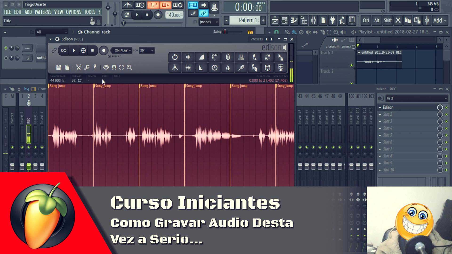 Como Gravar Audio Desta Vez a Serio