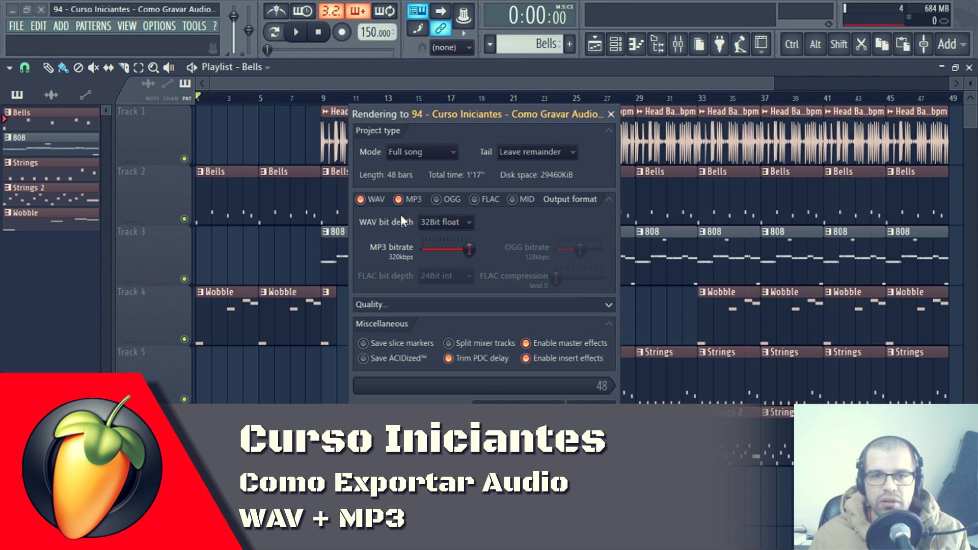 Como Exportar Audio