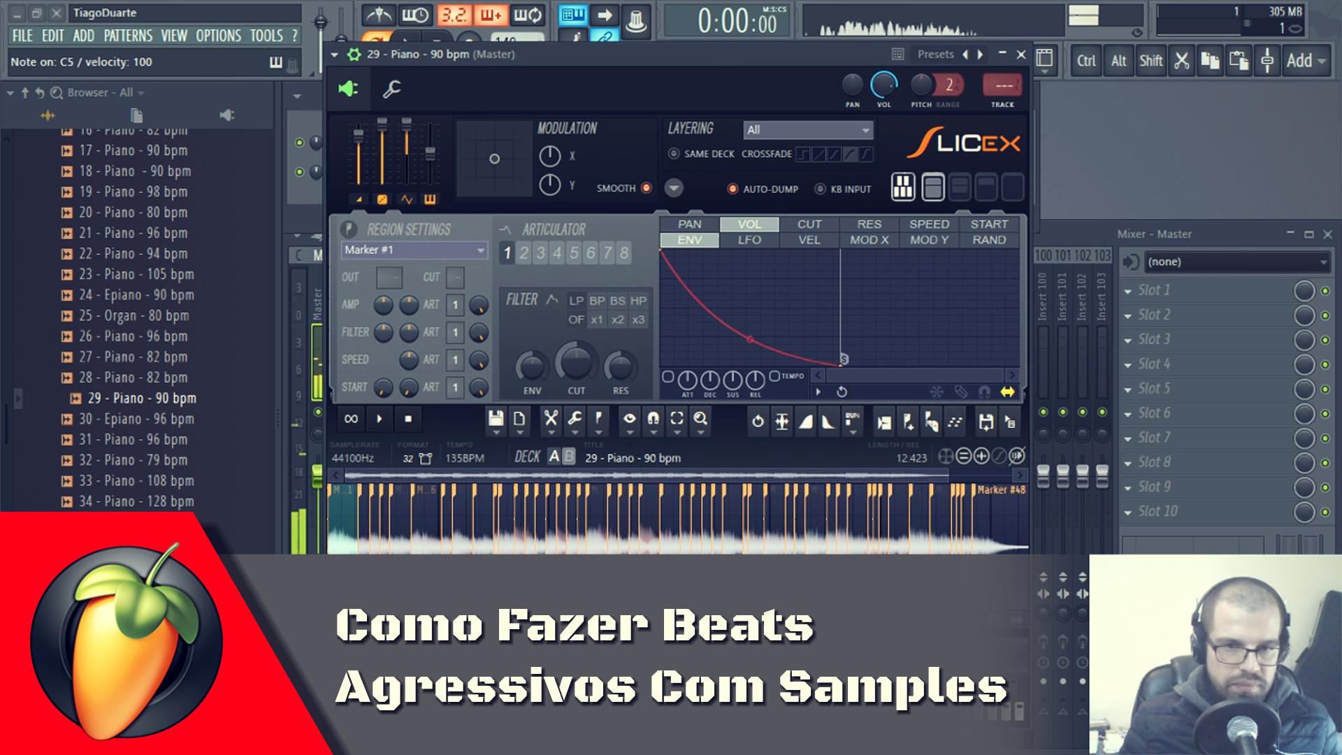 Como Fazer Beats Agressivos Com Samples