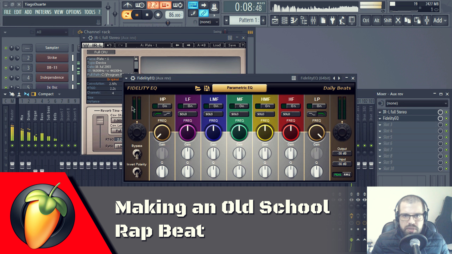 Making an Old School Rap Beat