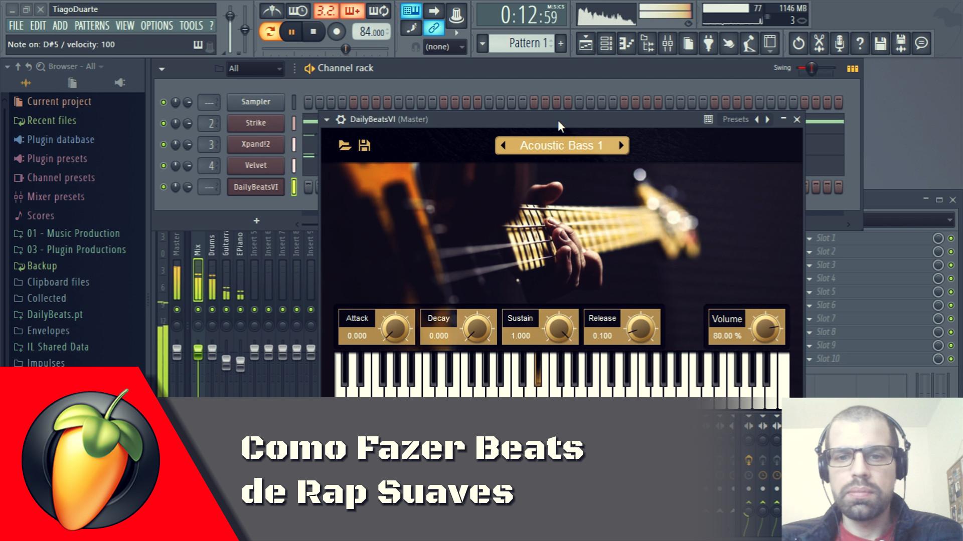 Como Fazer Beats de Rap Suaves