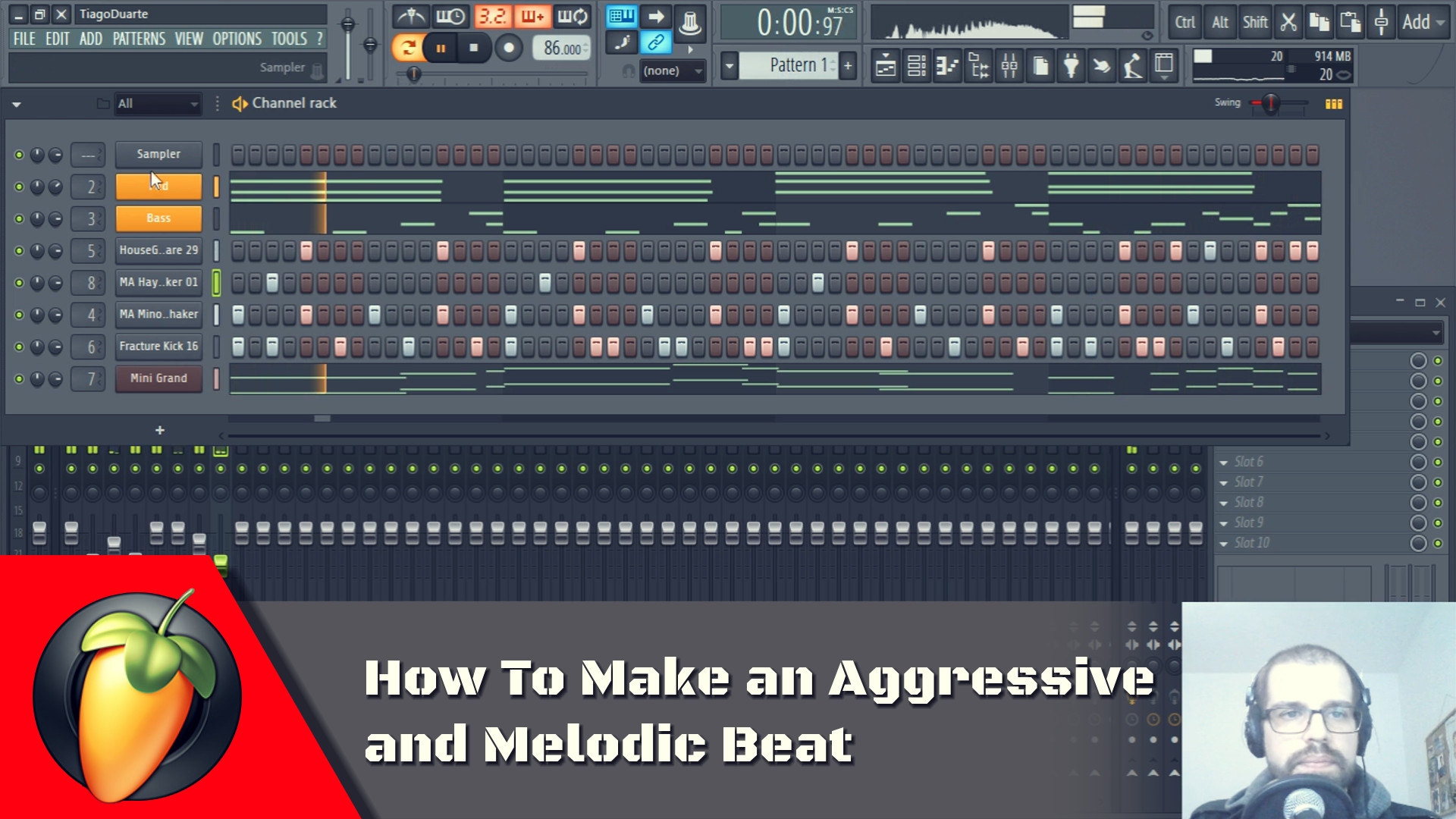 How To Make an Aggressive and Melodic Beat