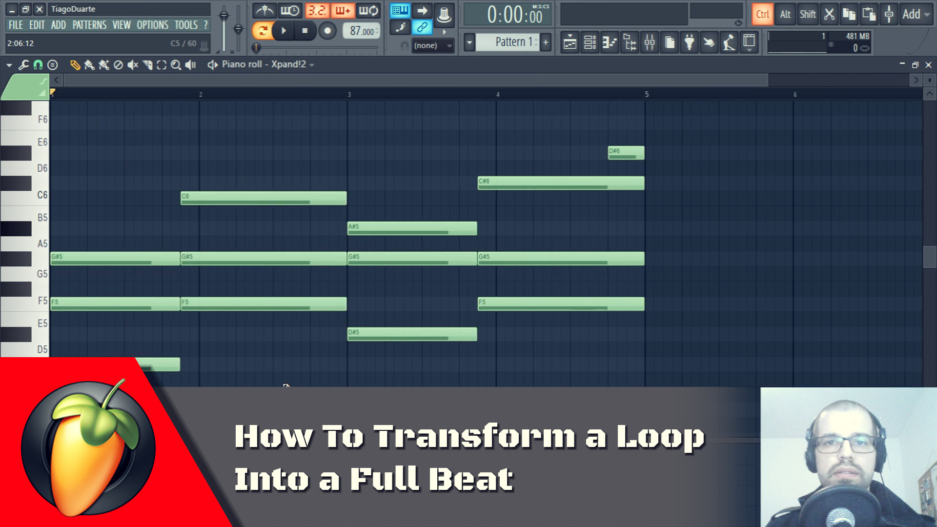 How to Transform a Loop Into a Full Beat
