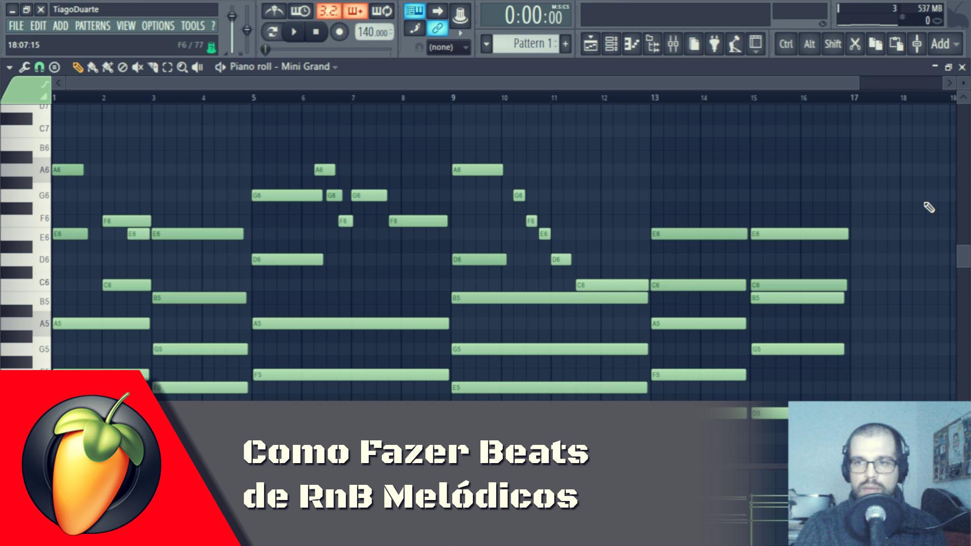 Como Fazer Beats de RnB Melodicos