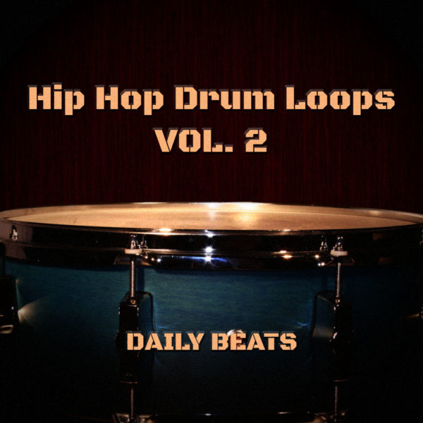 Hip Hop Drum Loops Volume 2