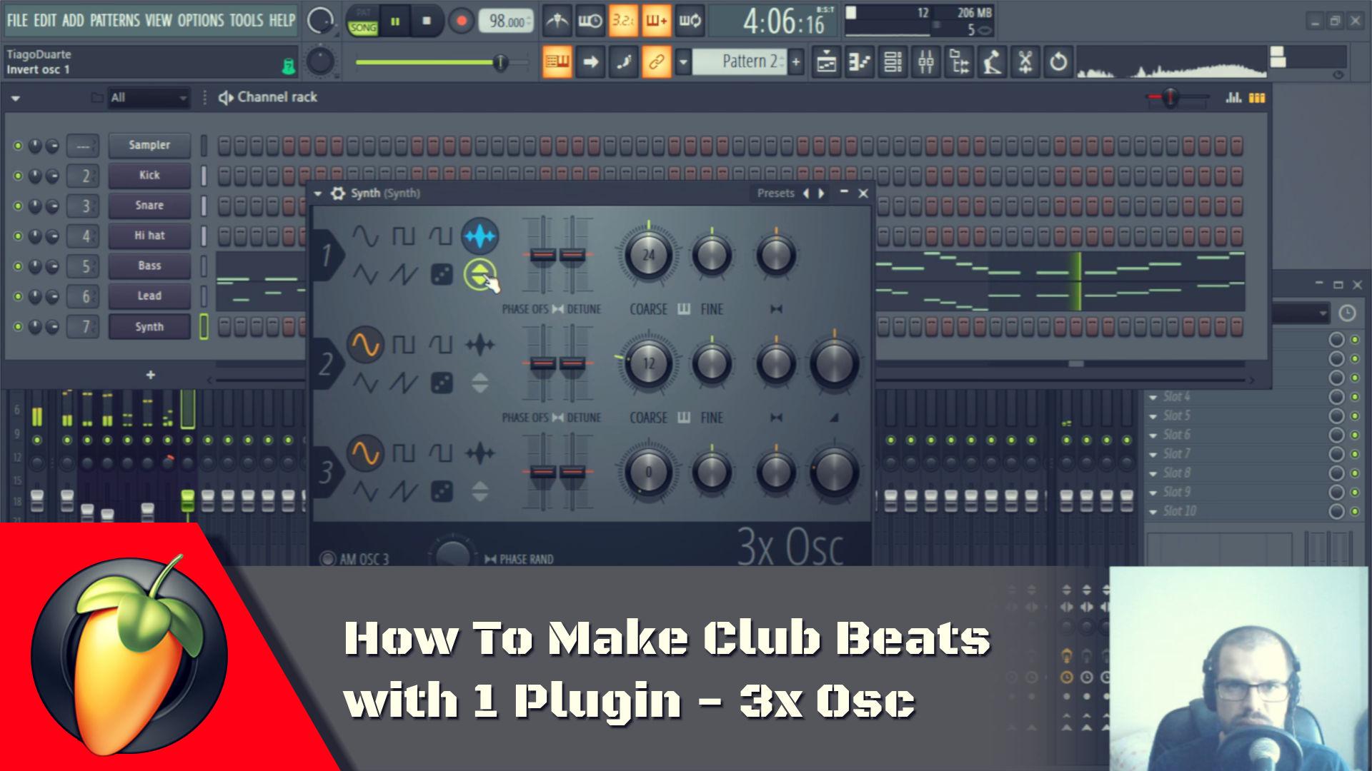 how to create mix level envelope fl studio