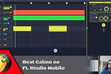 Beat Calmo no FL Studio Mobile