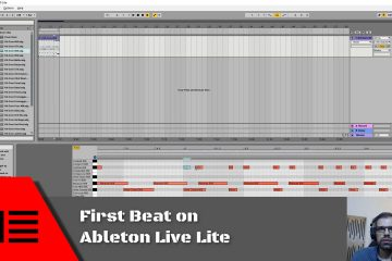 First Beat on Ableton Live Lite