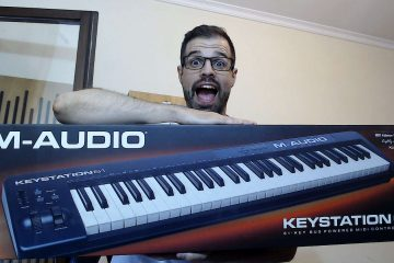 M-Audio Keystation 61 Review em Português