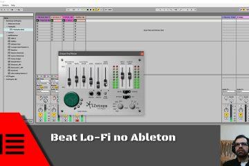 Beat Lo-Fi no Ableton