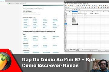 Rap Do Inicio Ao Fim S1 - Ep2: Como Escrever Rimas